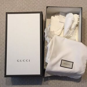 Gucci Shoe box( only)